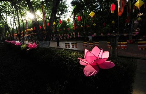 Великий буддийский праздник в Хюэ - ảnh 5