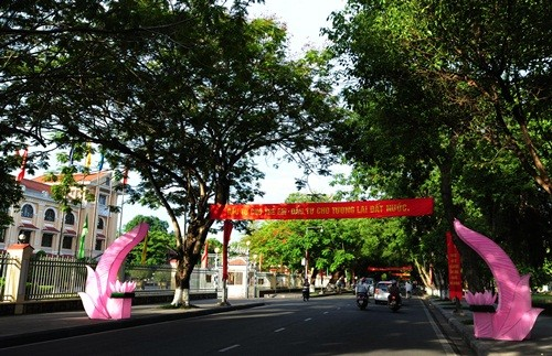 Великий буддийский праздник в Хюэ - ảnh 11