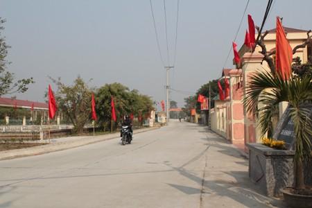 Кханьтхиен – первая община провинции Ниньбинь, завершившая строительство новой деревни - ảnh 3