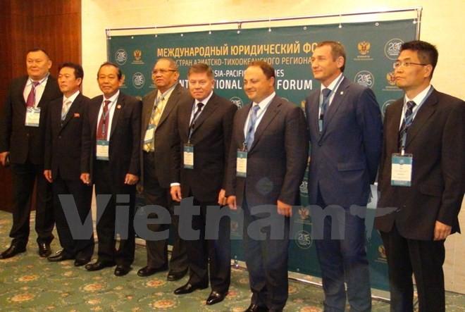 Вьетнам принял участие в Международном юридическом форуме стран АТР - ảnh 1
