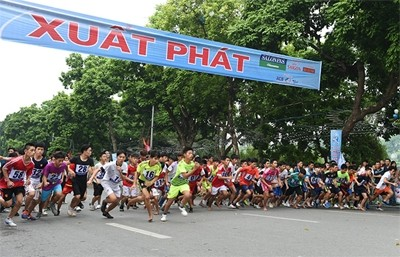 Более 1300 человек приняли участие в финале 42-го марафона в Ханое - ảnh 1