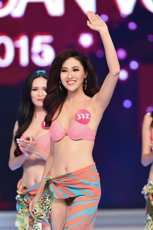 Финал конкурса «Мисс Вселенная Вьетнама-2015» - ảnh 8