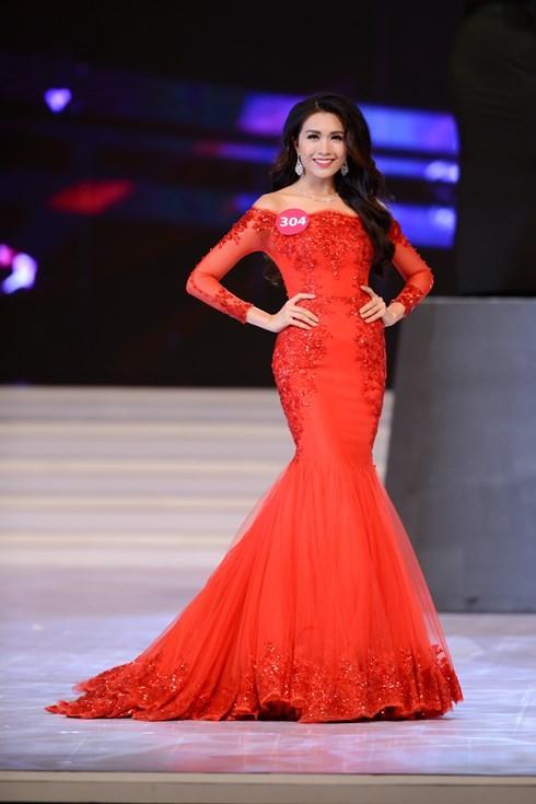 Финал конкурса «Мисс Вселенная Вьетнама-2015» - ảnh 10
