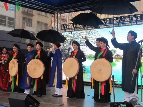 Открылись Дни вьетнамской культуры в чешском городе Брно - ảnh 2