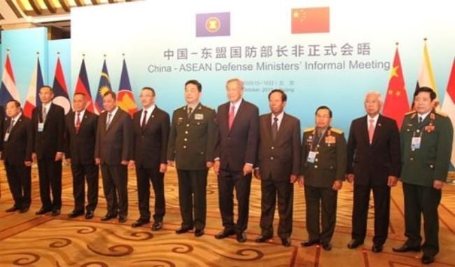 В Пекине прошла неофициальная встреча министров обороны Китая и стран АСЕАН - ảnh 1