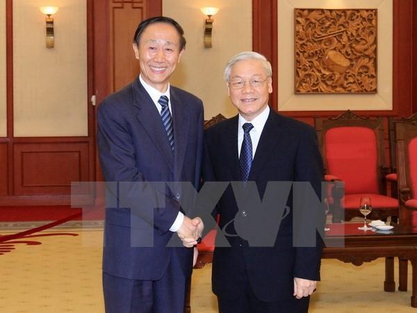 Делегация ЦК Компартии Китая находится во Вьетнаме с визитом - ảnh 1