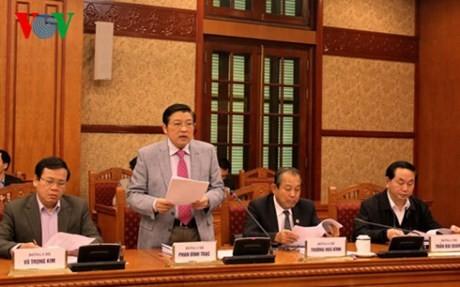 Генсек ЦК КПВ председательствовал на заседании Центрального комитета по борьбе с коррупцией - ảnh 1