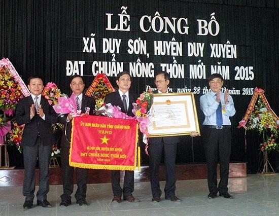 Строительство новой деревни в общине Зуишон провинции Куангнам - ảnh 3