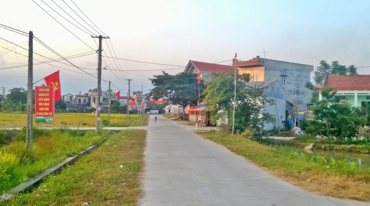 Провинция Куангнинь в основном завершила строительство новой деревни - ảnh 1