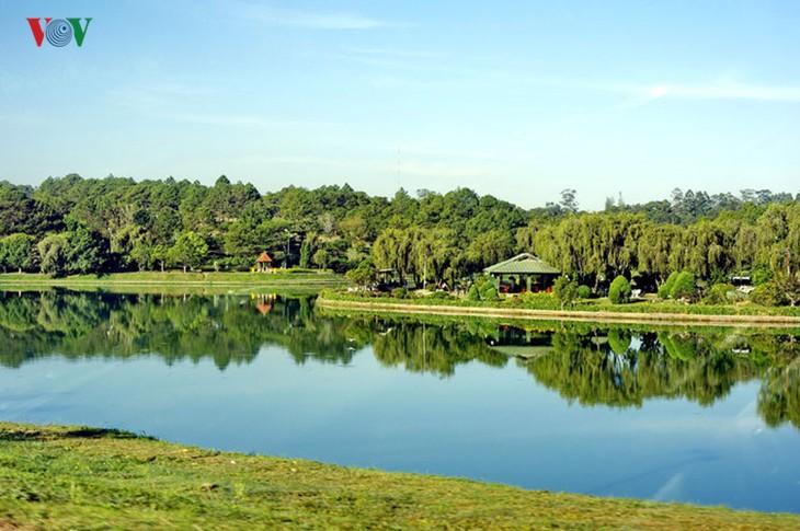 Поэтичное озеро Суан Хыонг в Далате - ảnh 6