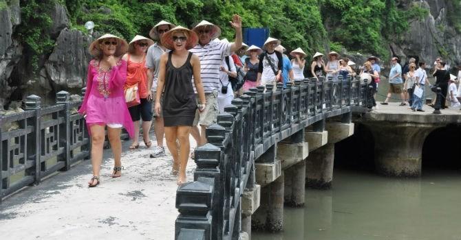 Количество иностранных туристов, посещающих Вьетнам в январе, продолжает расти - ảnh 1