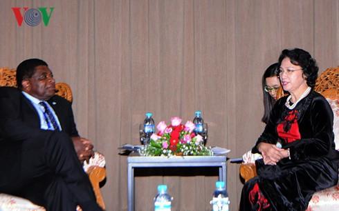 Спикер парламента Вьетнама встретилась с генсекретарем Межпарламентского союза - ảnh 1