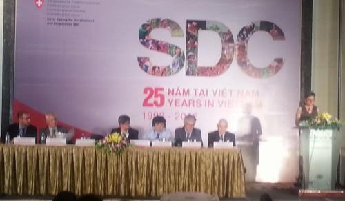 Вьетнам и Швейцария сотрудничают на благо устойчивого развития экономики - ảnh 1