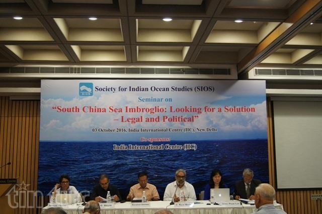 В Индии состоялся семинар по сложному положению в Восточном море - ảnh 1