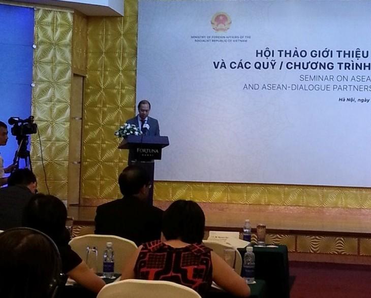 В Ханое представлены фонды сотрудничества АСЕАН - ảnh 1
