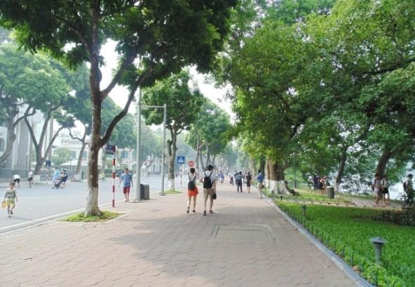 Пешеходное пространство в Ханое - ảnh 3