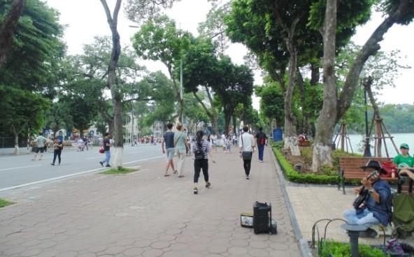 Пешеходное пространство в Ханое - ảnh 4