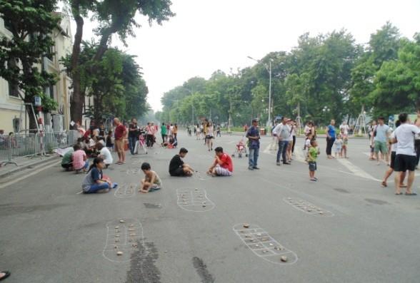 Пешеходное пространство в Ханое - ảnh 6
