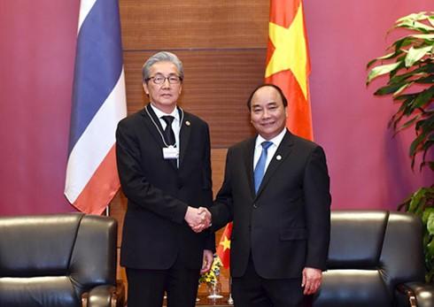 Премьер-министр Вьетнама принял вице-премьера Таиланда - ảnh 1