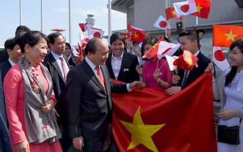 Премьер Вьетнама прибыл в Токио, начав официальный визит в Японию - ảnh 1