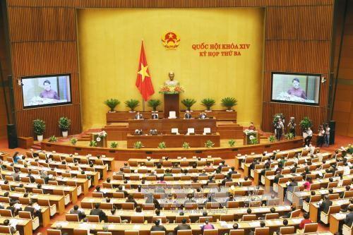 В парламенте Вьетнама обсуждают политику и закон по безопасности пищевых продуктов - ảnh 1