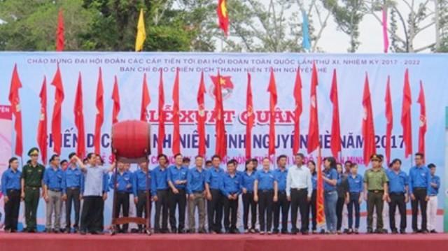Во Вьетнаме стартовала кампания «Молодые добровольцы летом 2017 года» - ảnh 1