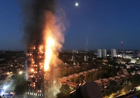 Пожар в жилом доме в Лондоне: информации о пострадавших гражданах СРВ нет - ảnh 1