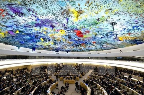 Совет ООН по правам человека принял проект резолюции, соавтором которой является Вьетнам - ảnh 1