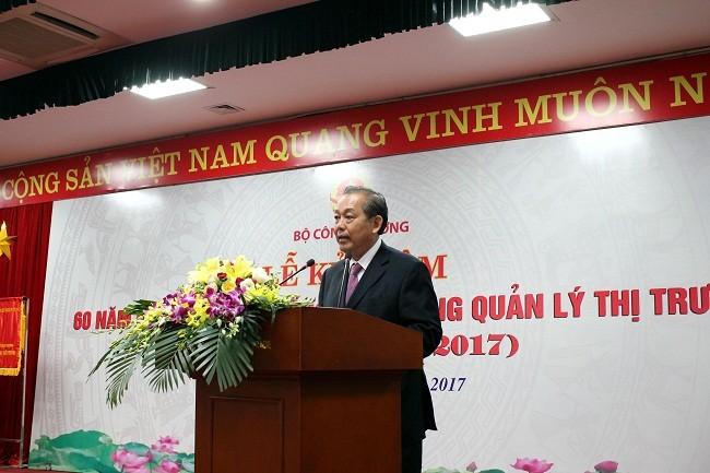 Чыонг Хоа Бинь: необходимо активизировать работу по борьбе с контрабандой - ảnh 1