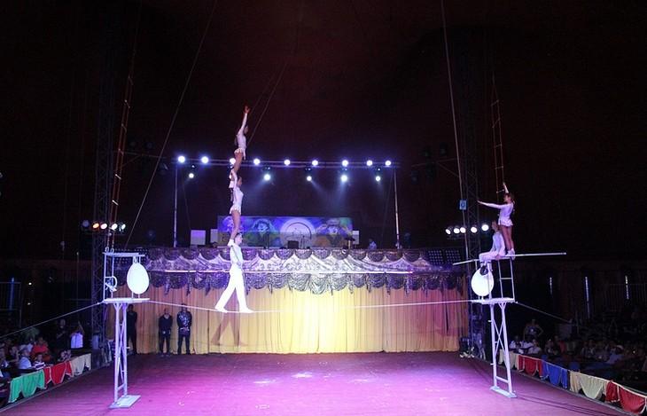 Вьетнам завоевал золото на международном цирковом фестивале на Кубе - ảnh 1