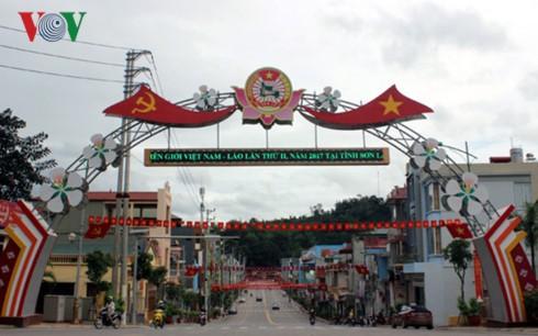 Открылся праздник культуры, спорта и туризма пограничных районов Вьетнам и Лаоса - ảnh 1