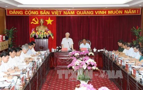 Генсек ЦК КПВ Нгуен Фу Чонг совершил рабочую поездку в провинцию Баккан - ảnh 1