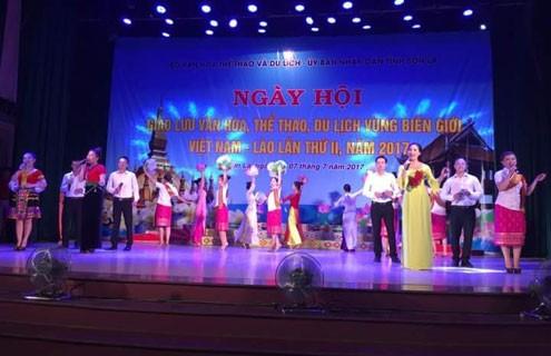 Завершился праздник культуры, спорта и туризма пограничных районов Вьетнама и Лаоса 2017 - ảnh 1