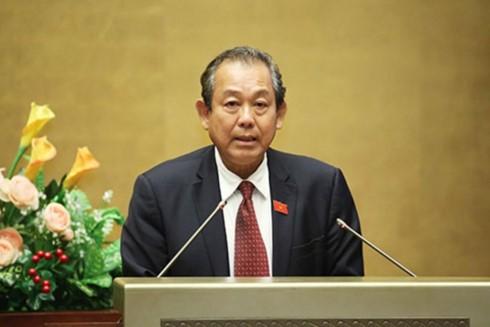 Вице-премьер Чыонг Хоа Бинь находится в Сингапуре с официальным визитом - ảnh 1
