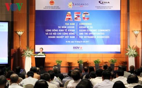 Экономическое сообщество АСЕАН и возможности для вьетнамских предприятий - ảnh 1