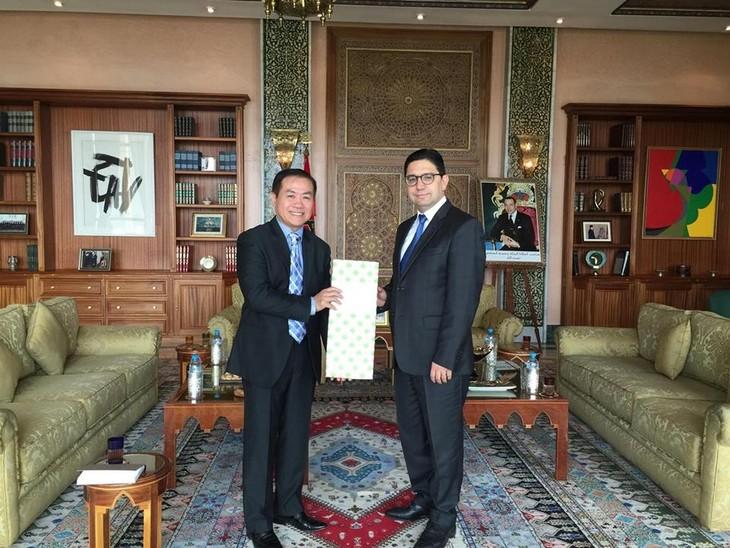 Вьетнам и Морокко развивают двусторонние отношения - ảnh 1