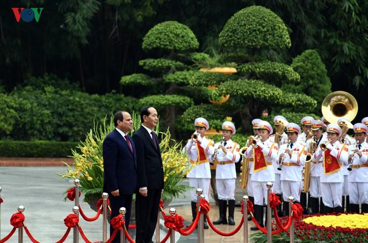 Вьетнам и Египет договорились активизировать взаимовыгодное сотрудничество - ảnh 1