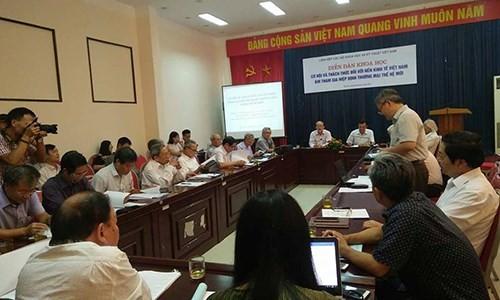 Возможности и вызовы, предоставляемые соглашениями о ЗСТ Вьетнаму - ảnh 1