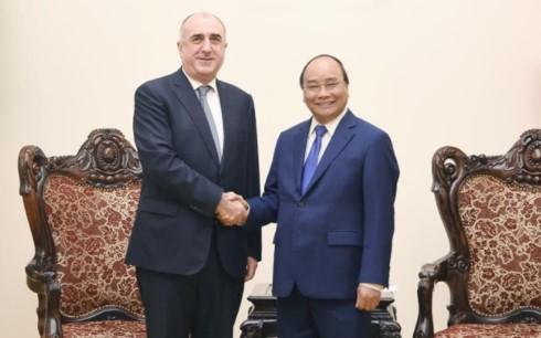Премьер-министр Нгуен Суан Фук принял главу МИД Азербайджана - ảnh 1