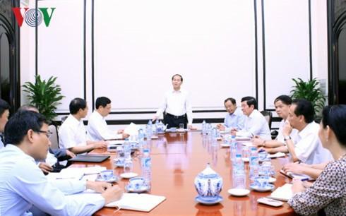 Министерства и ведомства должны тесно сотрудничать для успешного проведения Недели саммита АТЭС - ảnh 1