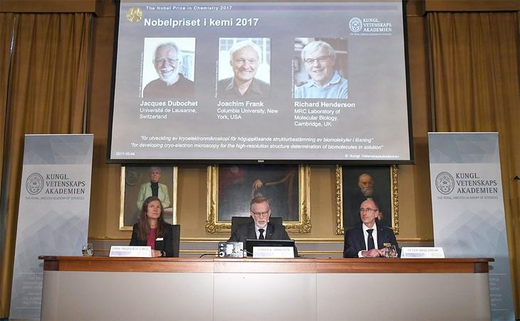 Нобелевскую премию по химии 2017 года вручат за визуализацию биомолекул - ảnh 1