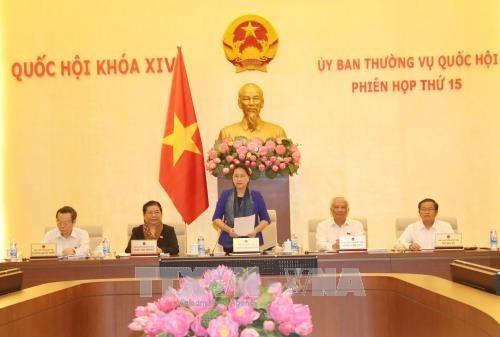 В Ханое начало свою работу 15-е заседание Постоянного комитета Нацсобрания Вьетнама - ảnh 1