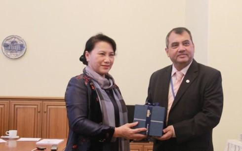 Вьетнам показал пример активного вклада в развитие Межпарламентского Союза - ảnh 1