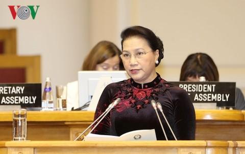 Нгуен Тхи Ким Нган: доброжелательность и искренность принесут мир и спокойствие нашей планете - ảnh 1