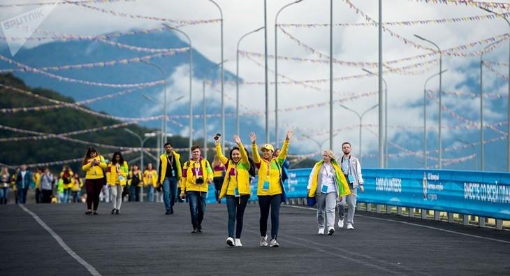 Вьетнам принимает активное участие в 19-м Всемирном фестивале молодёжи и студентов - ảnh 1
