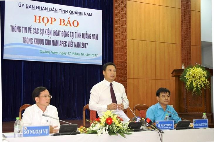 Провинция Куангнам готова к Неделе саммита АТЭС 2017 - ảnh 1