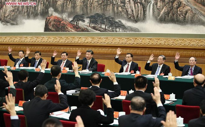 В Пекине завершился 19-й съезд Коммунистической партии Китая - ảnh 1