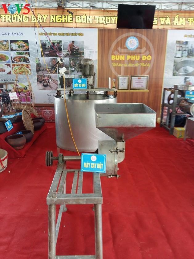 Производство рисовой вермишели «бун» в деревне Фудо - ảnh 2