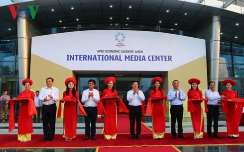 В городе Дананге открылся международный пресс-центр саммита АТЭС - ảnh 1