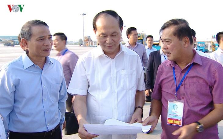 Чан Дай Куанг проверил работу по обеспечению безопасности и приёму лидеров экономик-участниц АТЭС - ảnh 1